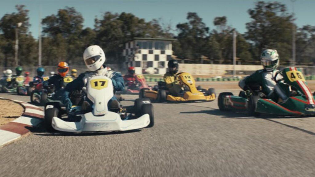 le corse di go-kart
